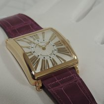 Franck Muller Master Square Red gold 32,7mm Silver Roman numerals