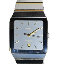 Rado Diastar Tungsten and Gold Two Tone Men's