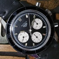 Heuer Acero 40mm Cuerda manual 2446C usados