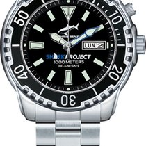 Chris Benz 1000M SHARKPROJECT EDITION CB-1000-SP-MB new