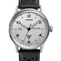 Junkers Steel 42mm Quartz 6944-1 new