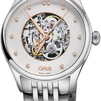 Oris Steel 33mm Automatic Artelier Skeleton new United States of America, New York, Airmont