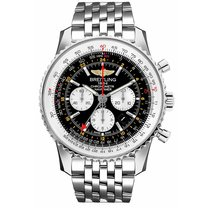 Breitling Navitimer GMT Steel 48mm Black United States of America, New York, NEW YORK