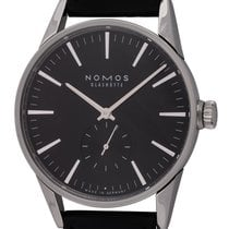 NOMOS 40mm Automatic pre-owned Zürich (Submodel) Black