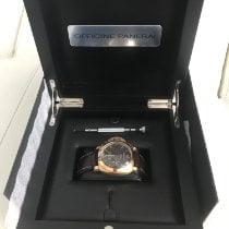 Panerai Luminor 1950 8 Days GMT occasion 44mm Or rose