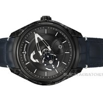 Ulysse Nardin Carbon Automatic Black No numerals 43mm new Freak