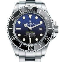 Rolex Sea-Dweller Deepsea Steel 44mm No numerals United States of America, New York, NEW YORK