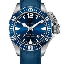 Hamilton Khaki Navy Frogman Acier 42mm Bleu France, LYON