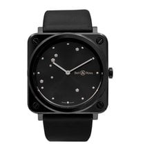 Bell & Ross Black 39mm new BR S
