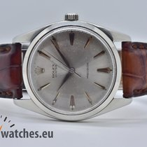 Rolex Oyster Precision Acero 36mm Gris Sin cifras