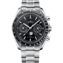 Omega Speedmaster Professional Moonwatch Moonphase 304.30.44.52.01.001 2019 new