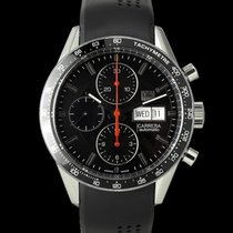 TAG Heuer Carrera Calibre 16 Acero 41mm Negro
