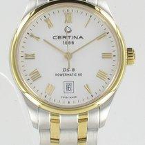 Certina DS-8 Gold/Steel 38MMmm White Roman numerals