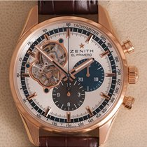 Zenith El Primero Chronomaster pre-owned 42mm Chronograph Leather
