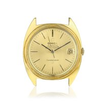 Omega Constellation Yellow gold 35.5mm Champagne