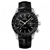 Omega Platino Cuerda manual Negro 44.2mm nuevo Speedmaster Professional Moonwatch