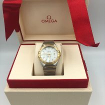 Omega Constellation Ladies Or/Acier Nacre