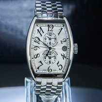 Franck Muller Steel 47mm Automatic 6850 pre-owned