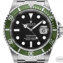 Rolex Submariner Date 16610LV T 2005 pre-owned