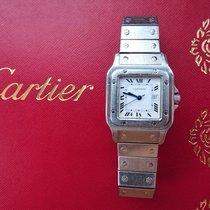 Cartier Santos Galbée Stahl 29mm Weiß Römisch Deutschland, Bad Endorf
