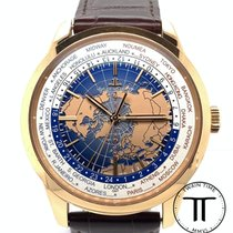 Jaeger-LeCoultre Geophysic Universal Time Rose gold 41.6mm Blue No numerals United States of America, New York, New York