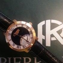 Pierre Kunz Rose gold Quartz Black 33mm new