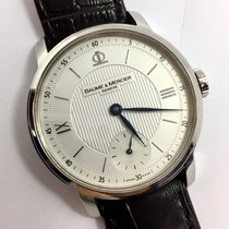 Baume & Mercier 42mm  Automatic Steel Men's Watch W/...