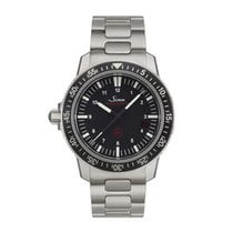 Sinn EZM 3 Steel 41mm Black Arabic numerals