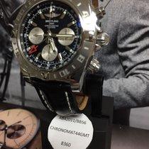 Breitling Uhr neu Stahl Automatik Uhr mit Original-Box und Original-Papieren