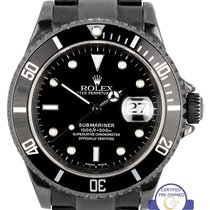 Rolex 2001 Rolex Submariner Date 40mm Black PVD Coated...