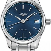 Longines Steel Automatic Blue 25.5mm new Master Collection