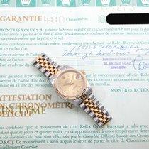 劳力士  18K/SS Midsize Datejust - Champagne Stick Dial -  Rolex...