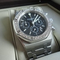 Audemars Piguet Royal Oak Chrono Diamond Boutique Full Blue