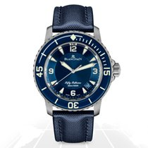 Blancpain Fifty Fathoms Titanium 45mm Blue United States of America, New York, New York