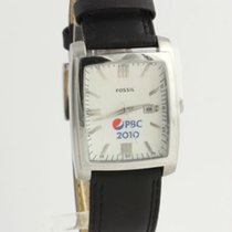 Fossil Men's Quartz Wrist Watch PR-5324 Genuine Leather Band...