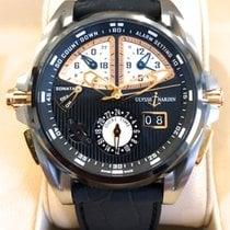 Ulysse Nardin Sonata Streamline GMT Titanium Pinkgold Alarm...