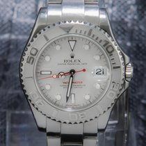 Rolex Yacht-Master Oyster Perpetual Platinum Dial & Bezel -...