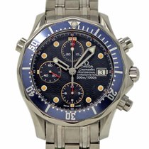Omega Seamaster Diver 300 M Staal 42mm Blauw