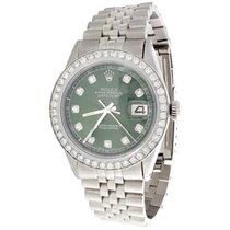 Rolex pre-owned Automatic 36mm Green Sapphire crystal