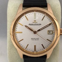 Jaeger-LeCoultre Geophysic True Second Pозовое золото 39.6mm Без цифр