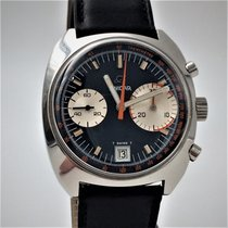 Enicar Chronograph 37,2mm Manual winding 1969 pre-owned Blue