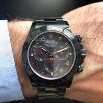 Rolex Daytona Stahl 40mm Schwarz Arabisch Deutschland, Köln