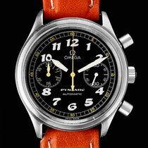 Omega Dynamic Chronograph Stal 38mm Czarny Arabskie