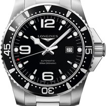 Longines HydroConquest Steel 44mm Black United States of America, New York, Airmont
