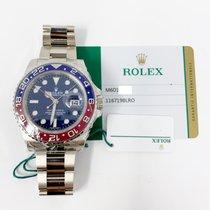 Rolex 116719BLRO White gold GMT-Master II 40mm new