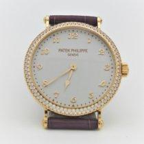 Patek Philippe Calatrava Rose gold 34.6mm White Arabic numerals
