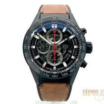 TAG Heuer Carrera Calibre HEUER 01 Keramik 43mm Sort Arabertal