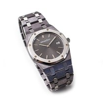 Audemars Piguet Tantalum Quartz Grey No numerals 33mm new Royal Oak