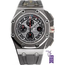 Audemars Piguet Royal Oak Offshore Chronograph Τιτάνιο 44mm Γκρι Xωρίς ψηφία