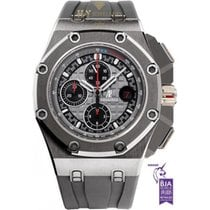 Audemars Piguet Royal Oak Offshore Chronograph Titanyum 44mm Gri Rakamsız